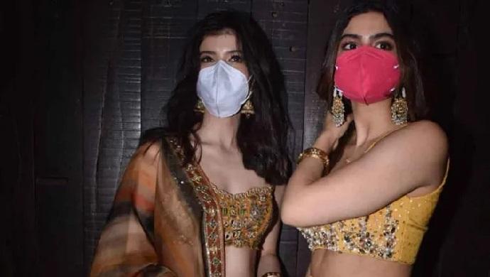 Shanaya Kapoor and Khushi Kapoor