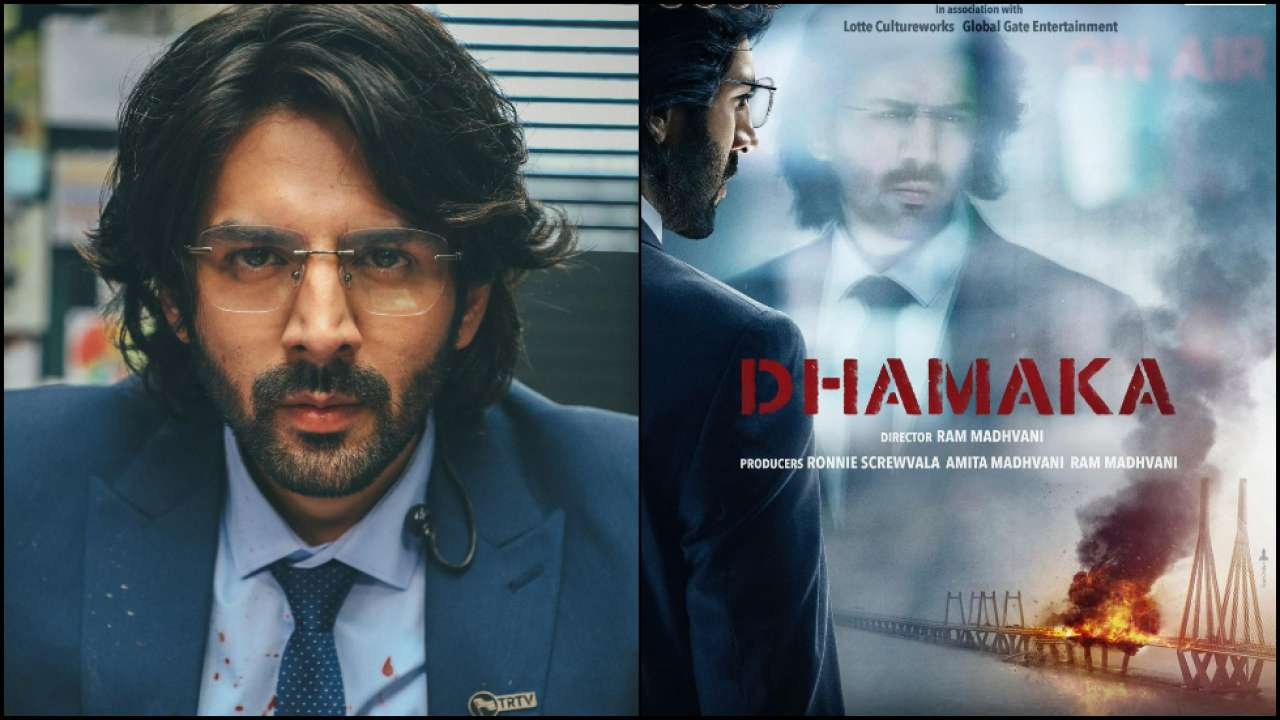 Dhamaka: Kartik Aaryan Turns Journalist For Ram Madhvani's Directorial; Film To Light Up On Diwali