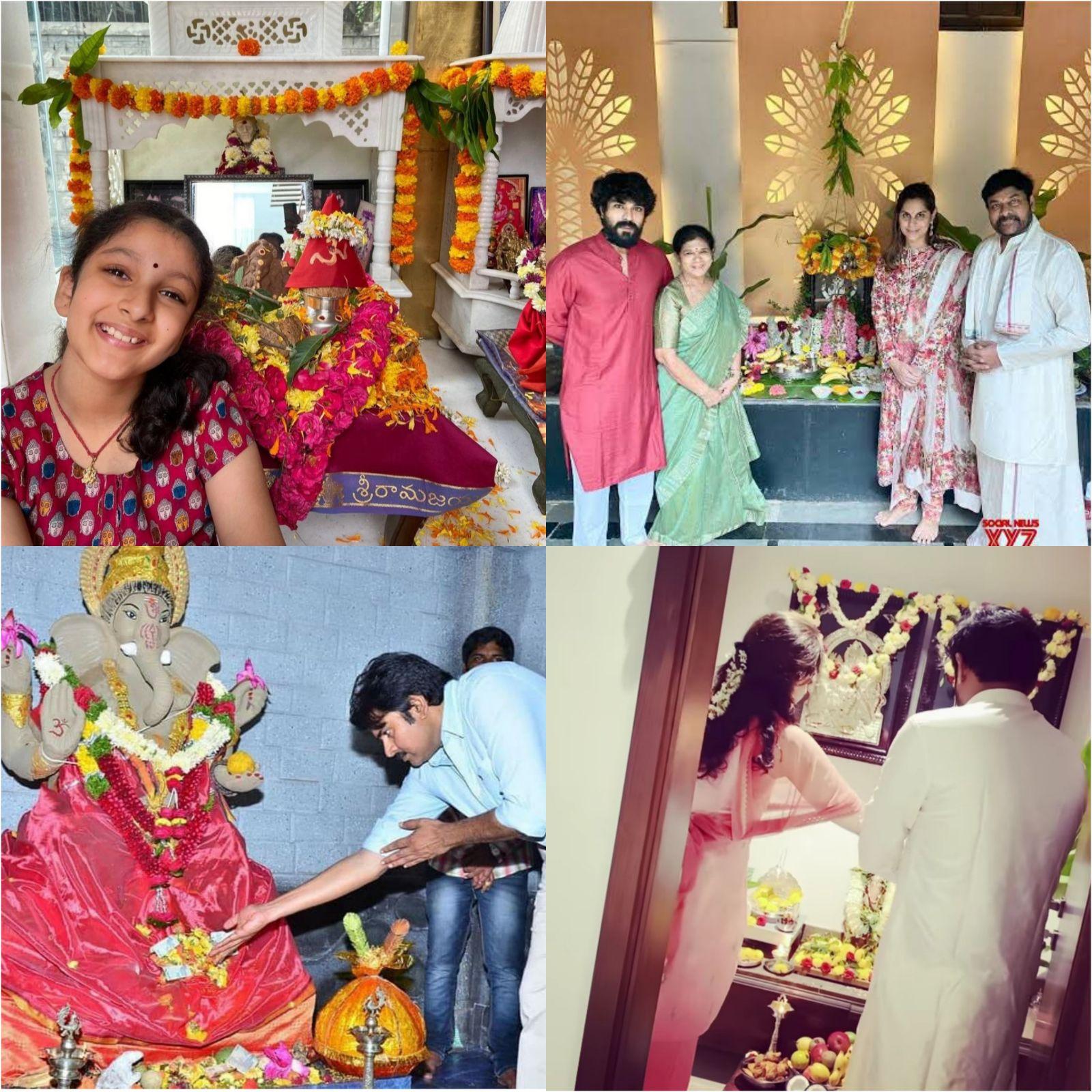 Tollywood celebrates Ganesh Chaturthi