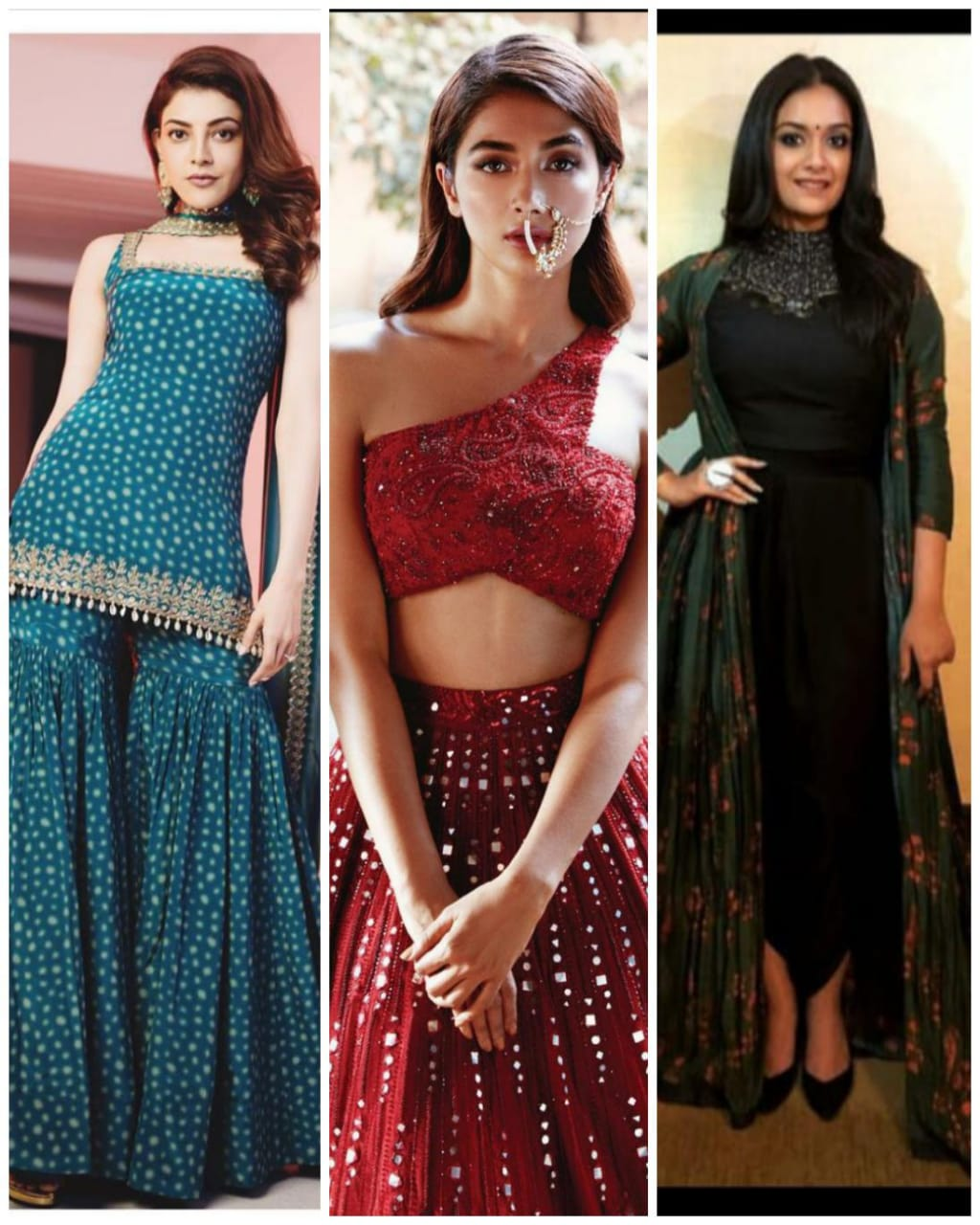 Kajal Aggarwal, Pooja Hegde to Anushka Shetty: Queen of Indo-western mix-matching