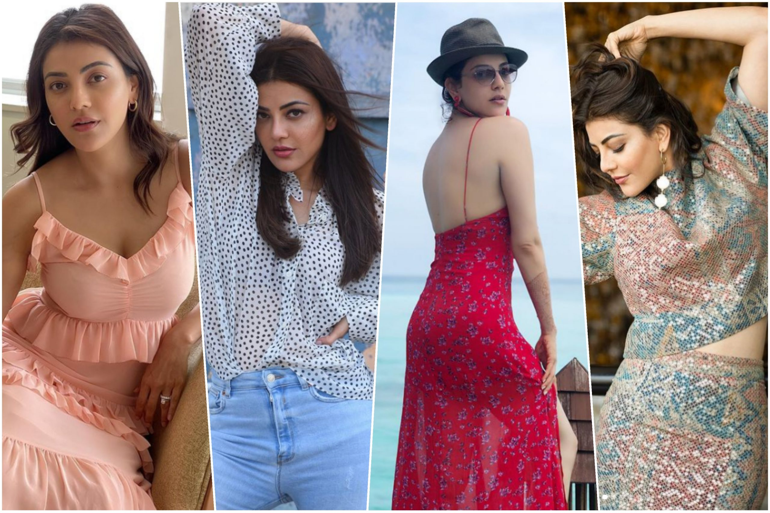 Kajal Aggarwal's stunning vacation fashion looks to add in our wardrobe