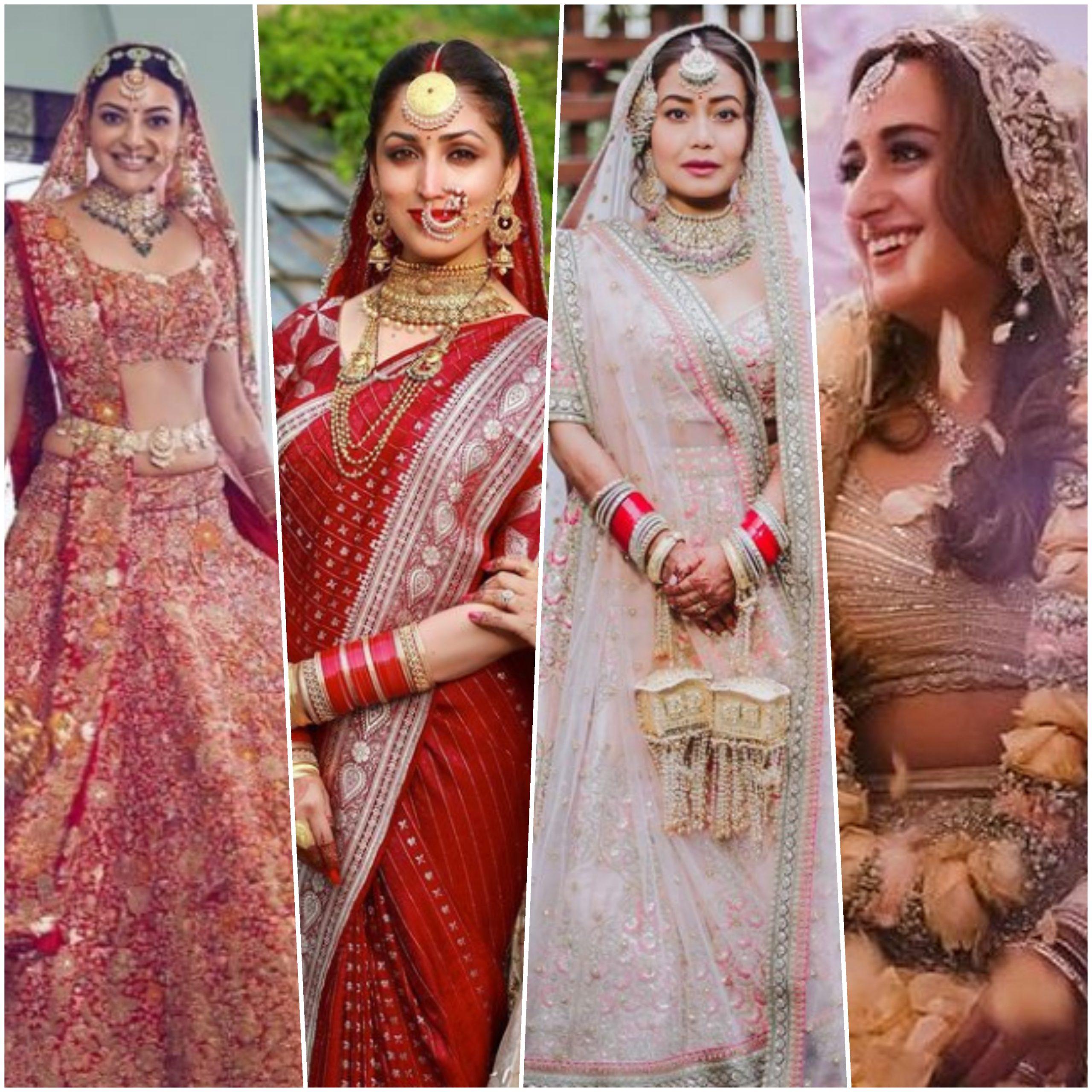 From Kajal Aggarwal to Yami Gautam, the Tollywood divas give us major bridal wardrobe goals!