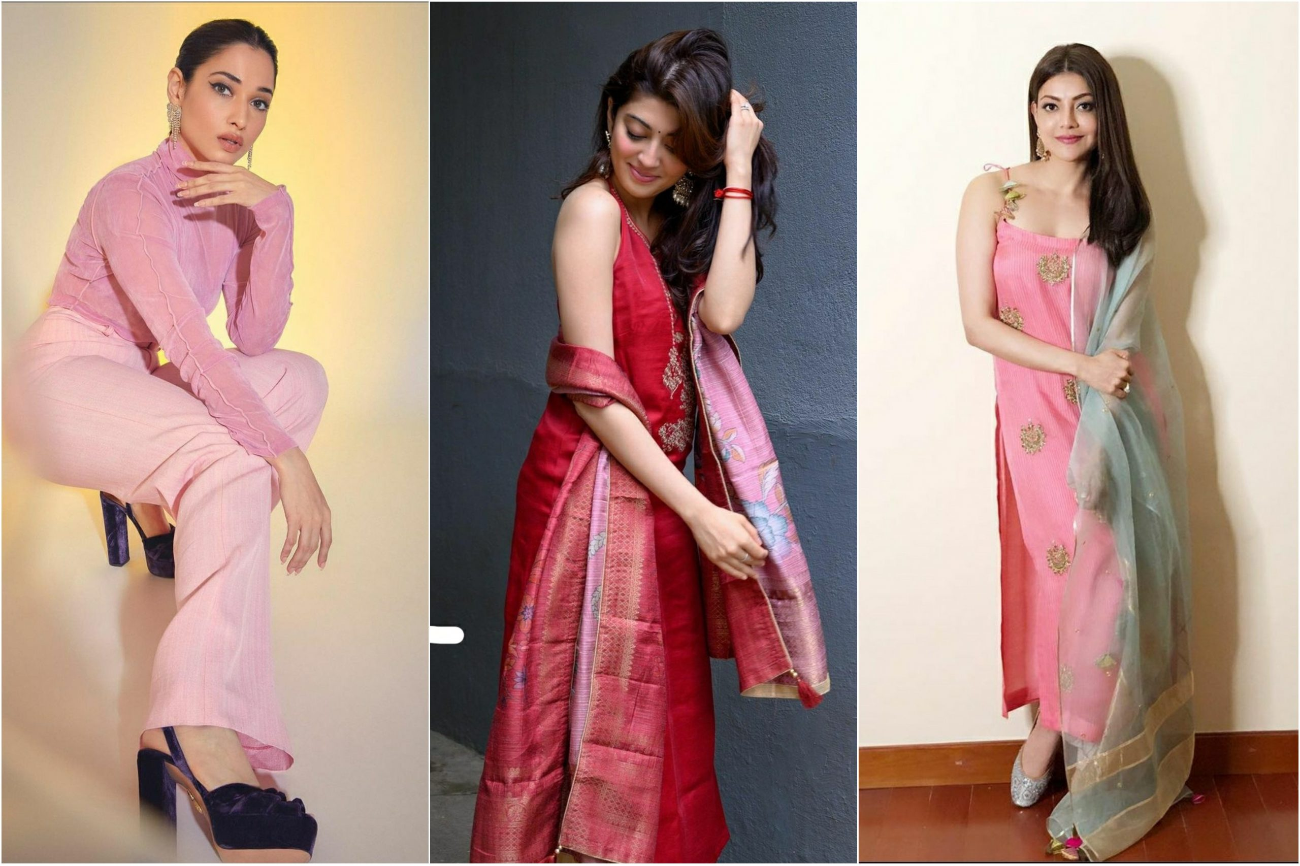 From Kajal Aggarwal to Pranitha Subhash, these Tollywood divas slay the Palazzo look