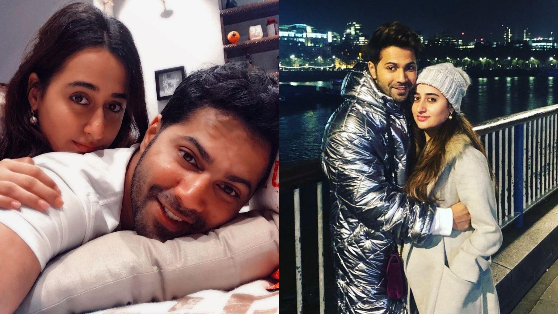 PICS INSIDE: Varun Dhawan And Natasha Dalal Dash Off For An Exotic Vacation; Couple Keeps It Cool At Candid At The Airport