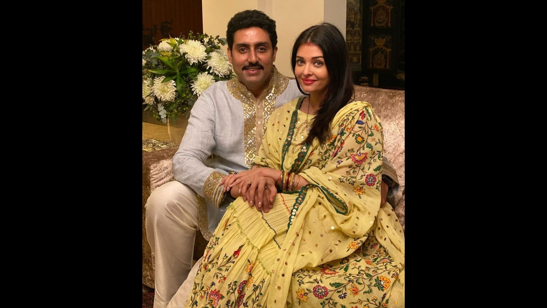 Abhishek Bachchan Reacts To His Viral Morphed Photo With Wife Aishwarya Rai From Their Wedding; Sets The Record Straight