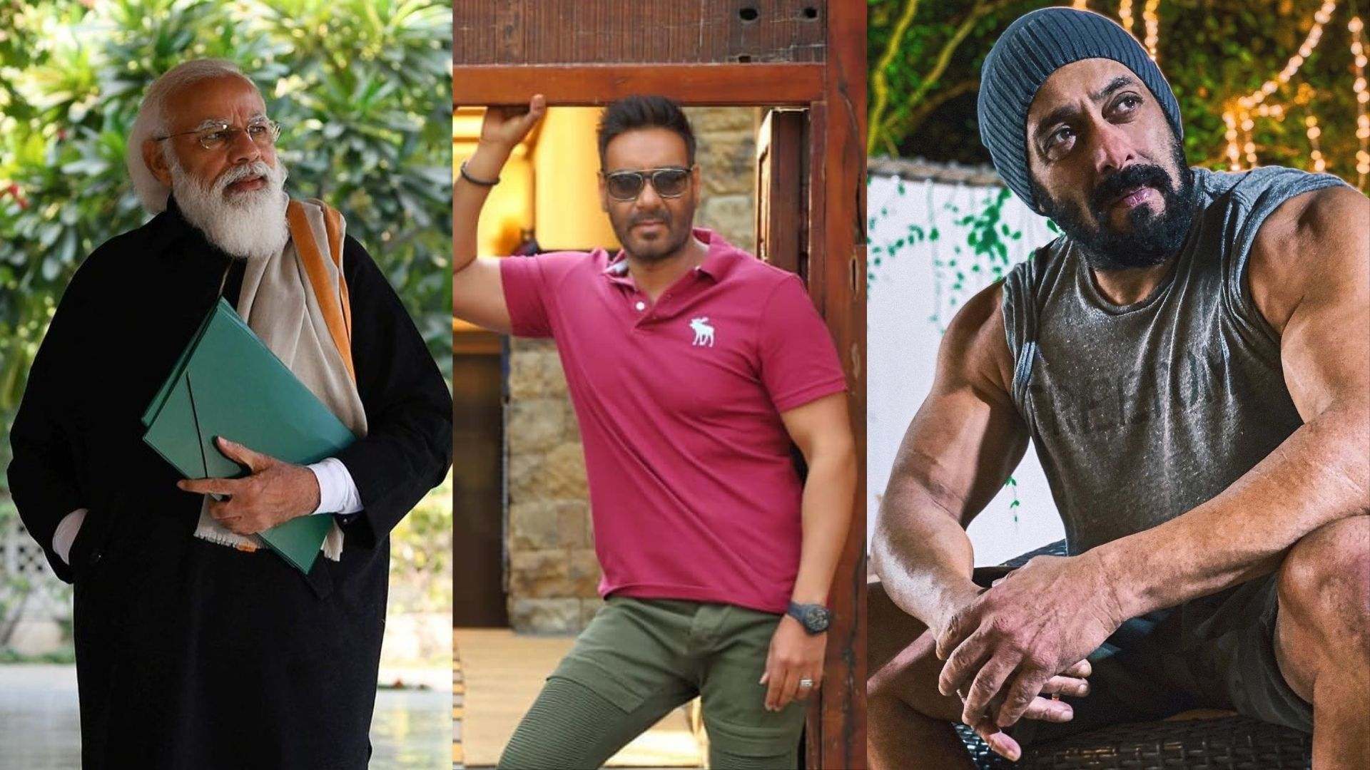 Prime Minister Narendra Modi's 71st Birthday: Bollywood Superstars Salman Khan And Ajay Devgn Pour In Warm Wishes