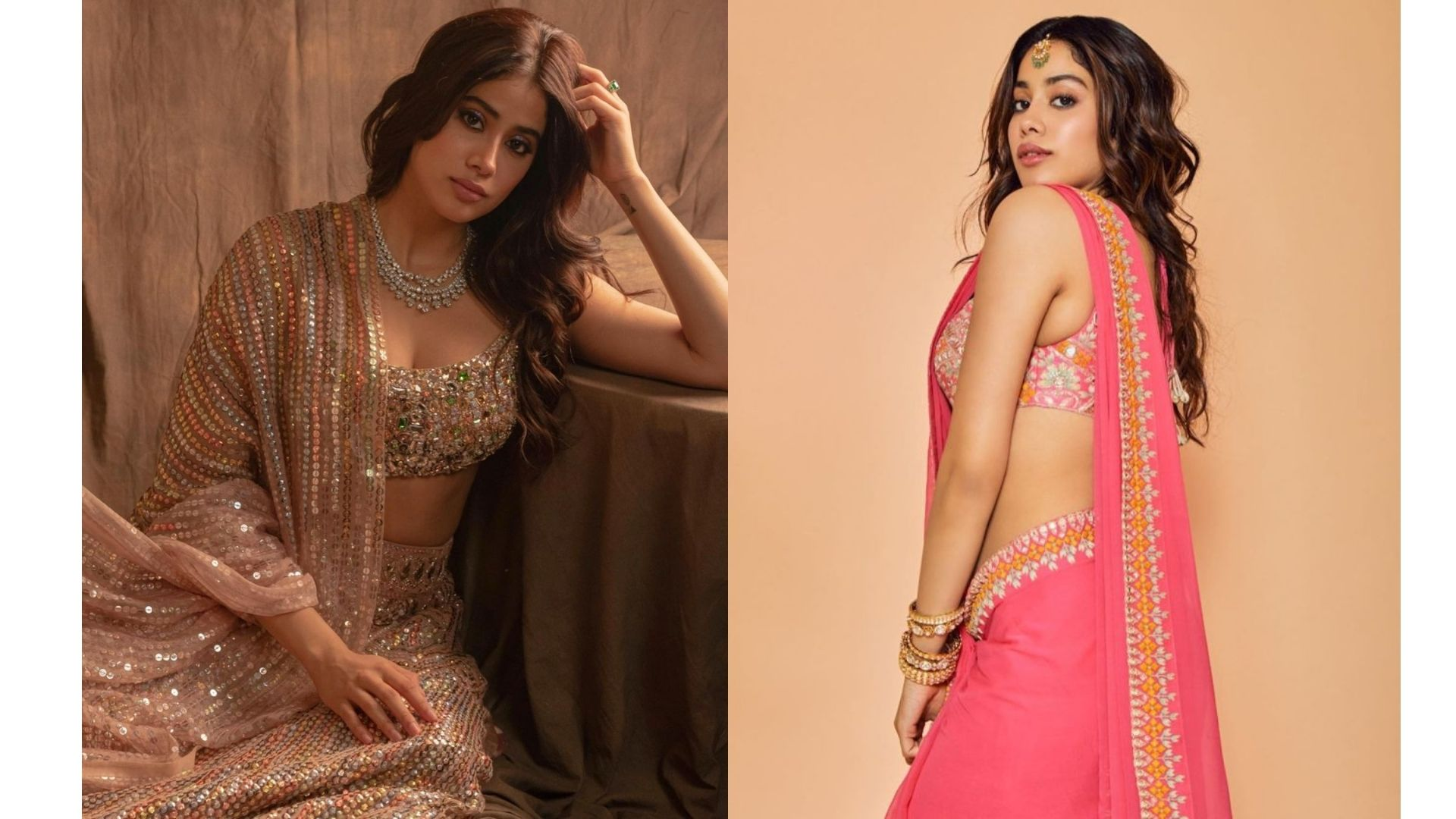4 Times Janhvi Kapoor Nailed The Traditional Looks; Take Cues Guys
