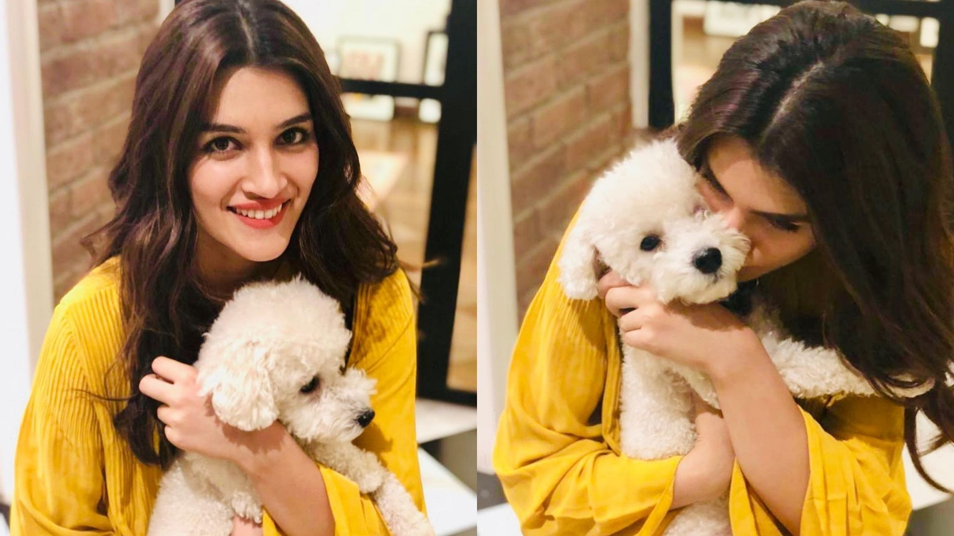 Kriti Sanon's Adorable Pictures With Her Dogs Prove She's A Doting Fur Mum