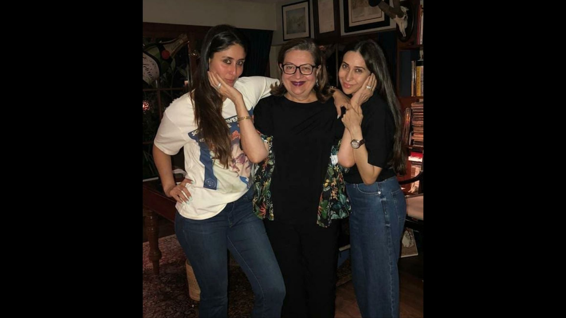 Kareena Kapoor Khan Repeats Her Two-Year-Old Pink Top During Her Visit To Mother Babita; We Still Can't Get Enough Of Her