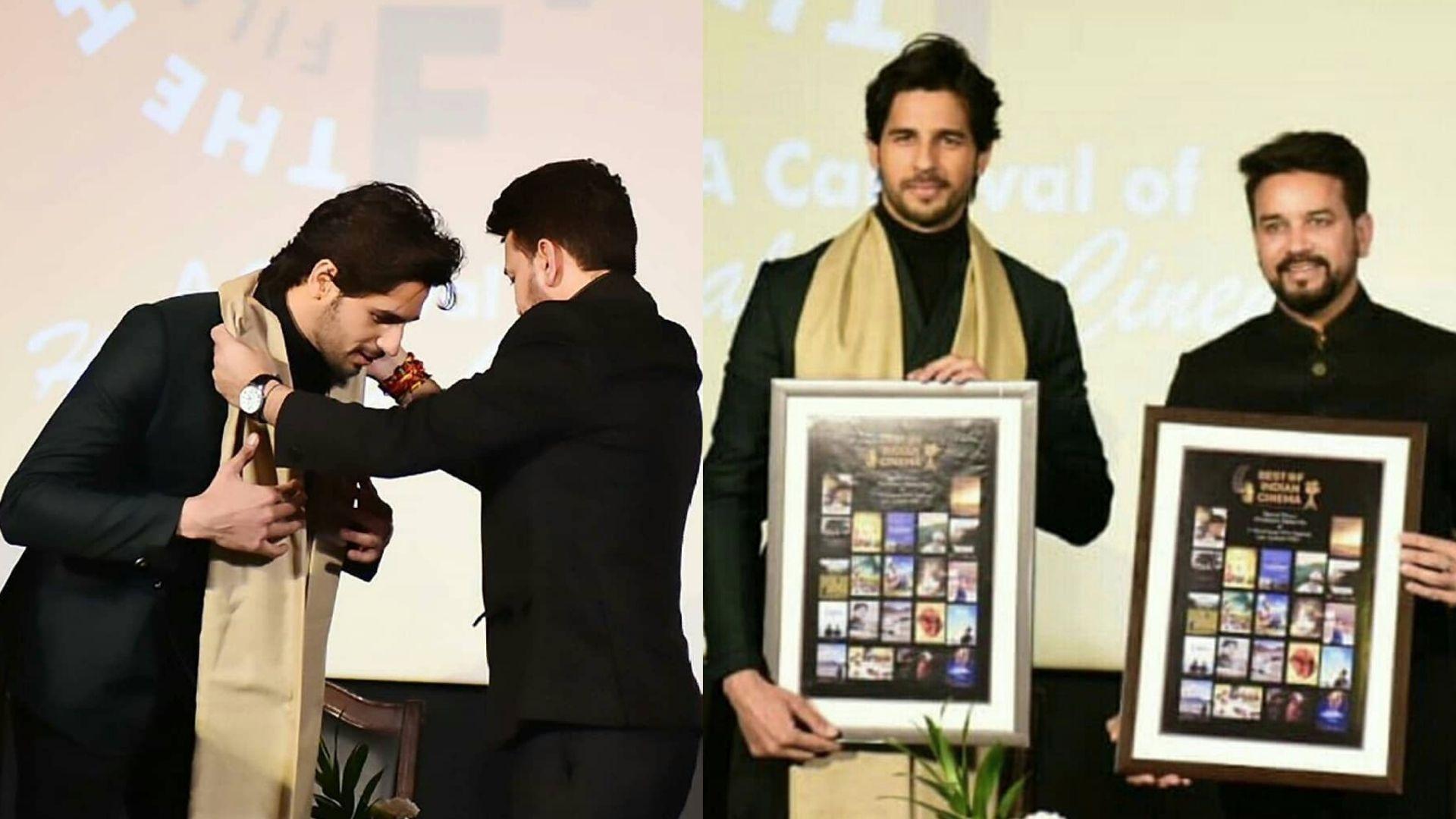 Sidharth Malhotra Inaugurates First Himalayan Film Festival With His Last Release; Co-star Kiara Advani Feels Proud
