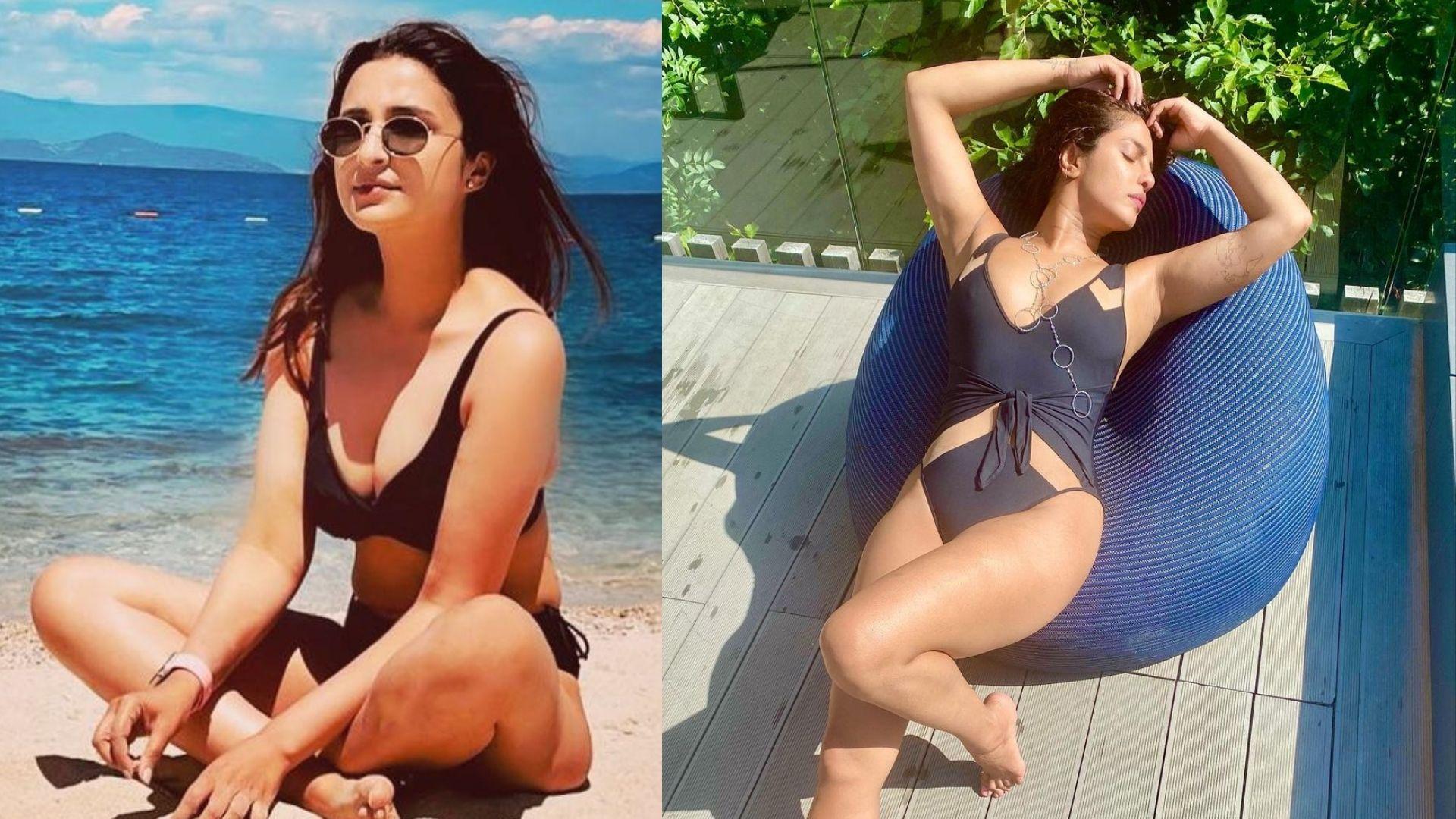 Did Parineeti Chopra Copy Priyanka Chopra's Sizzling Bikini Pose? Quantico Actress Asks Sister, 'Inspired?'