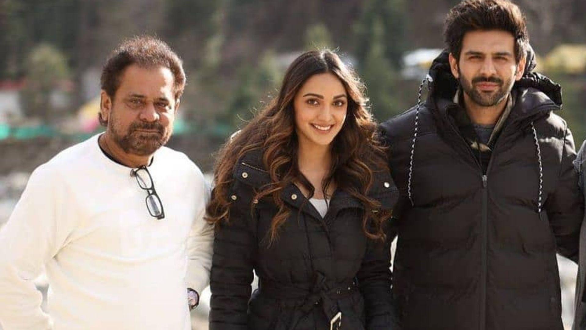 Bhool Bhulaiyaa 2: Netizens Hail Kiara Advani's Look From Kartik Aaryan Co-starrer;  Director Anees Bazmee Shares A BTS Photo
