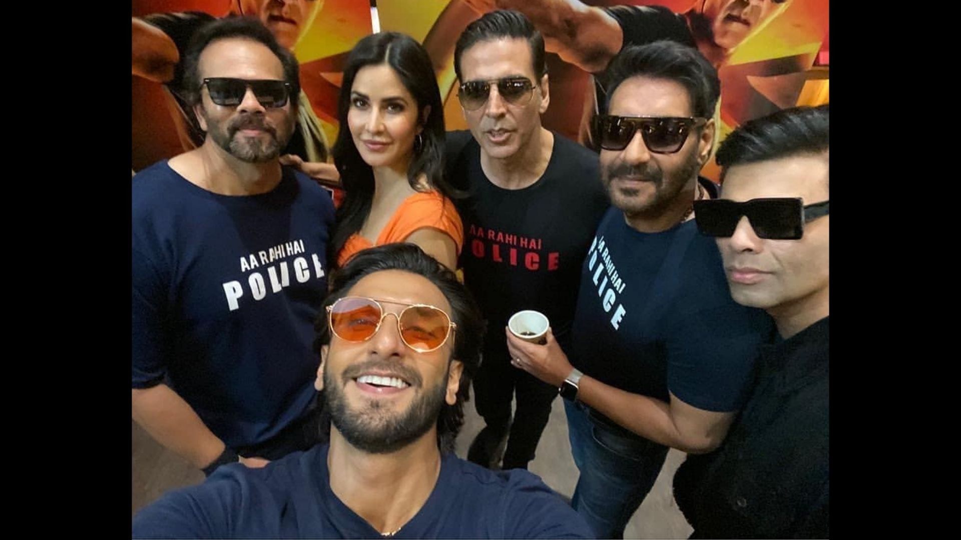 Sooryavanshi To Release On Diwali: Akshay Kumar, Ranveer Singh Share BTS Photo Ft. Them With Ajay Devgn And Rohit Shetty; Actor Duo Is Ecstatic