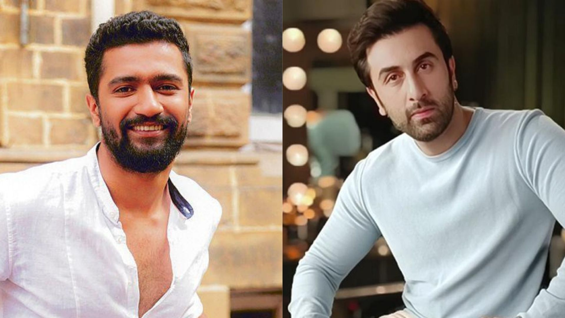 Ranbir Kapoor And Vicky Kaushal Get Spotted On The Sets of Mr Lele For The Song Shoot