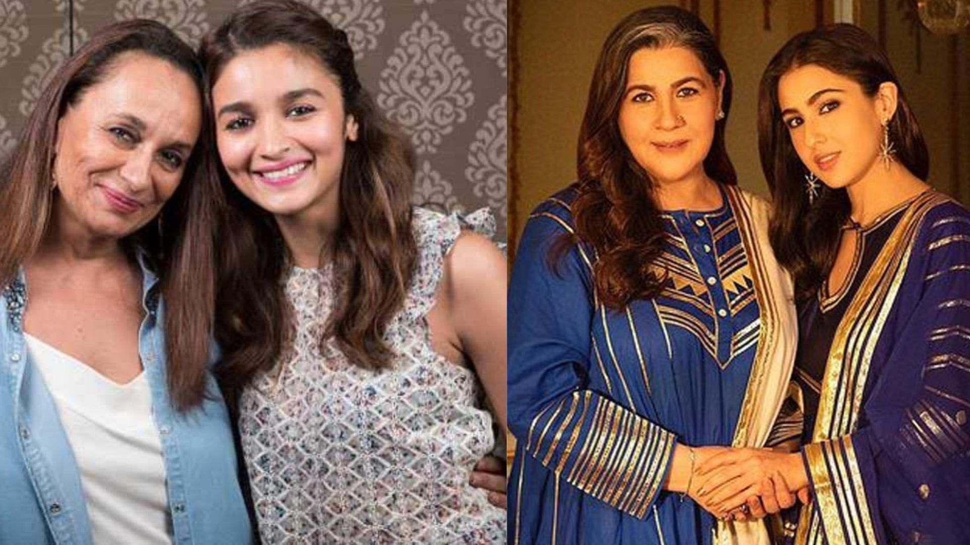 Daughter's Day: Alia Bhatt-Soni Razdan, Sara Ali Khan-Amrita Singh- Bollywood's Most Stylish Mother-Daughter Jodis