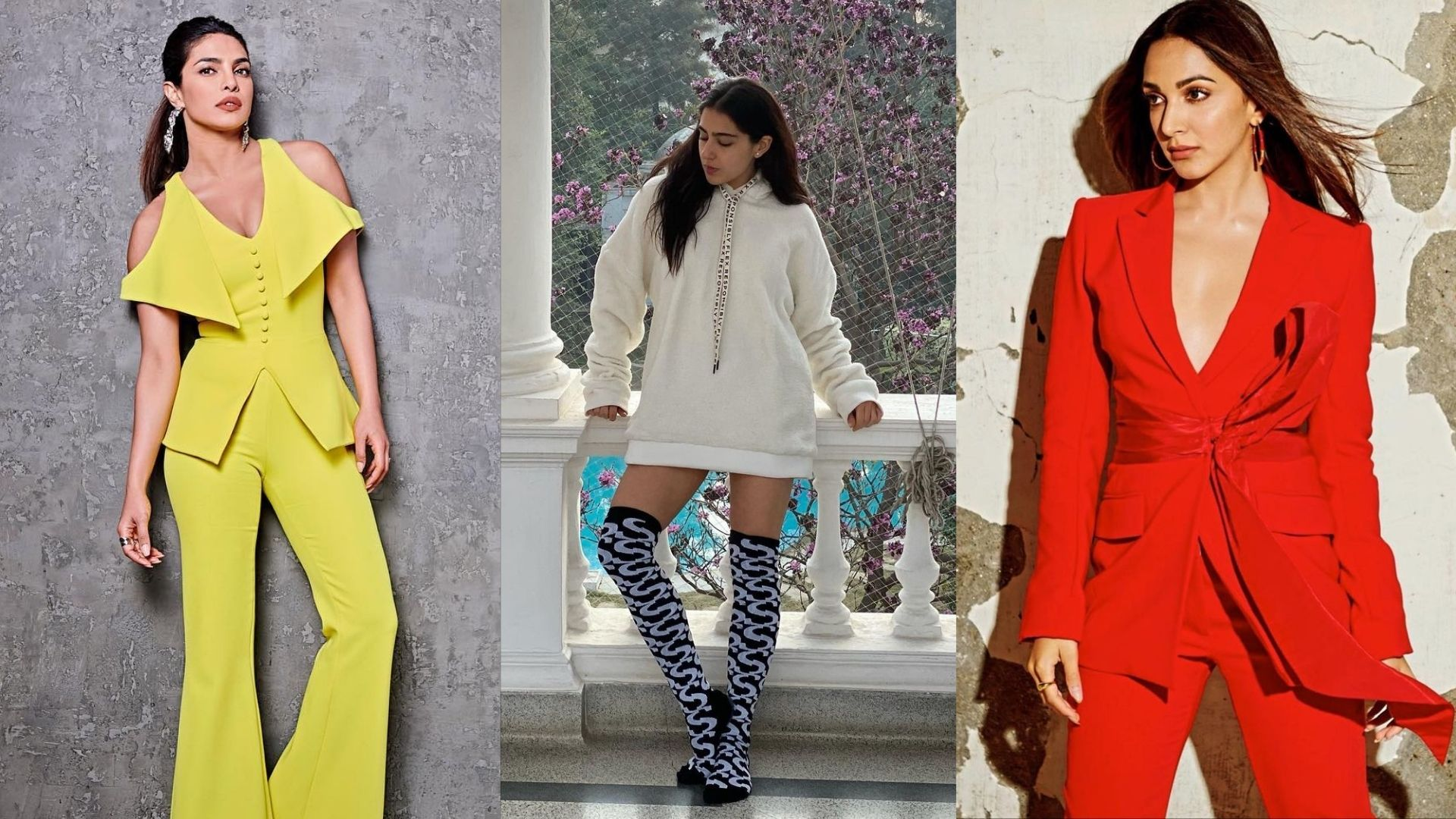 Don't Know How To Carry Loungewear Or A Bright Coloured Bottom Wear? Take Inspiration From These Bollywood Actresses