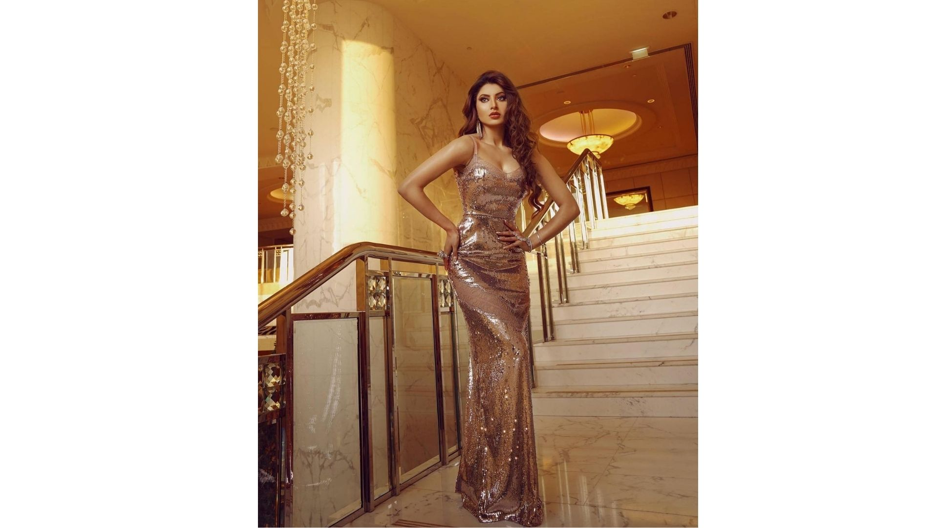 EXCLUSIVE! Urvashi Rautela Reacts On Being Honoured With Most Influential Bollywood Actress 2021 And Best Humanitarian Award