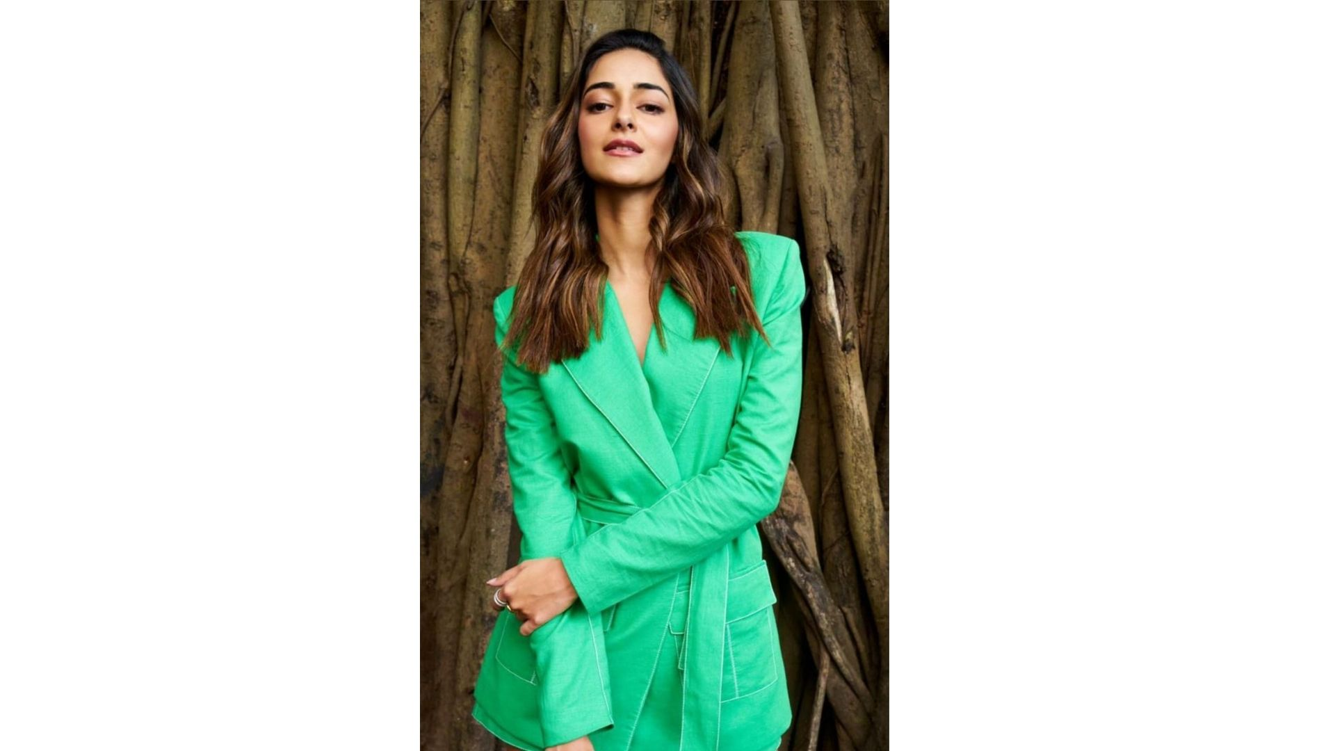 Ananya Panday Rocks The Neon-Green Look; These Pics Will Take Away Your Monday Blues