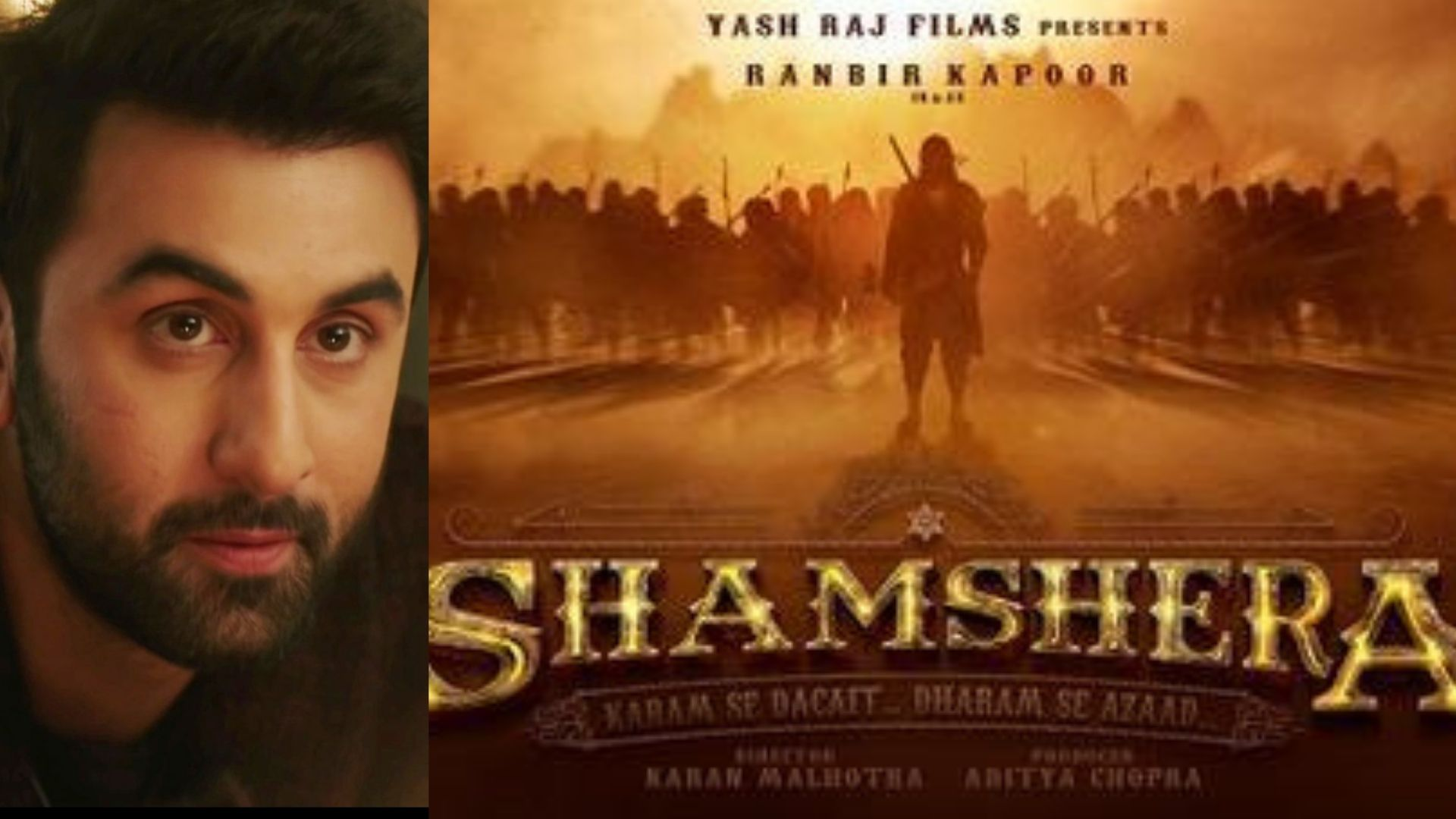 Shamshera: On Ranbir Kapoor's Birthday, Makers Drop Actor's First Look From Vaani Kapoor And Sanjay Dutt Co-starrer