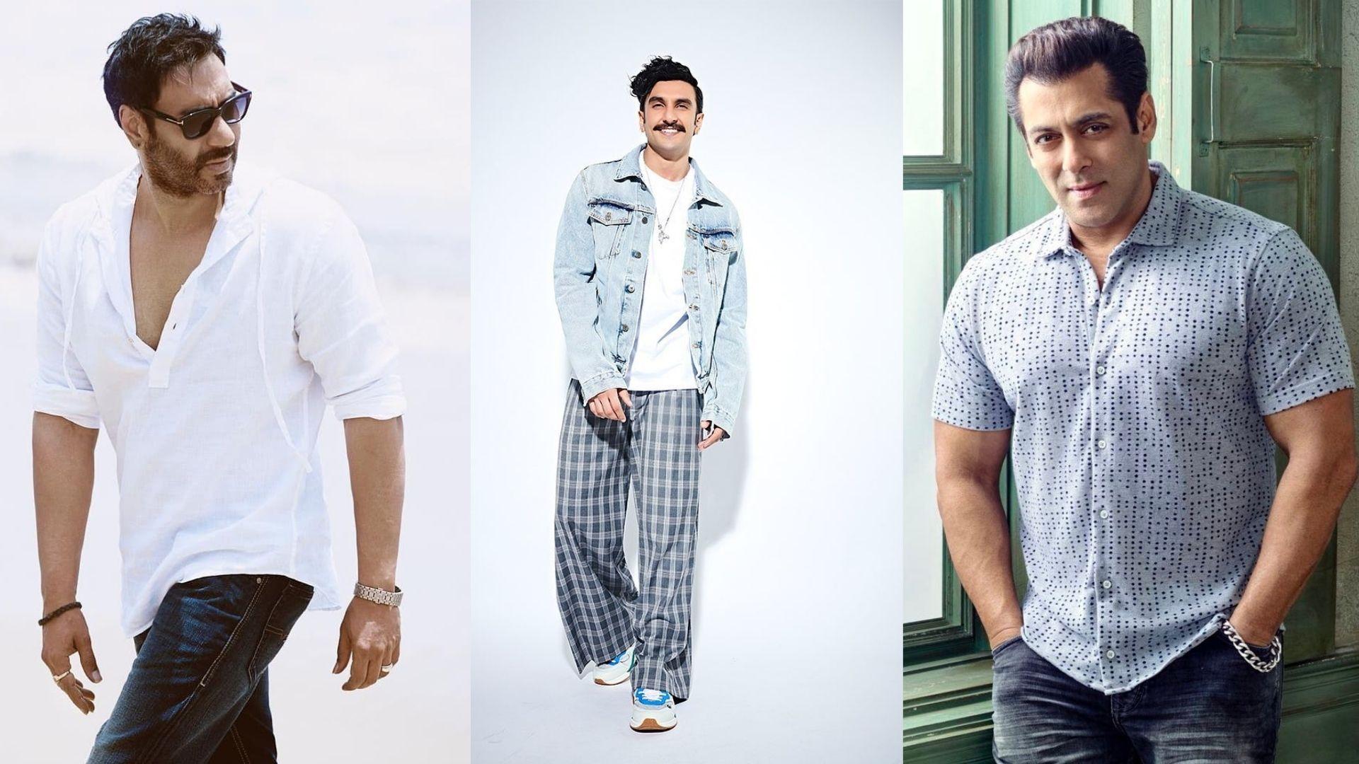 Salman Khan, Ranveer Singh, Ajay Devgn- Top Cops Of Bollywood