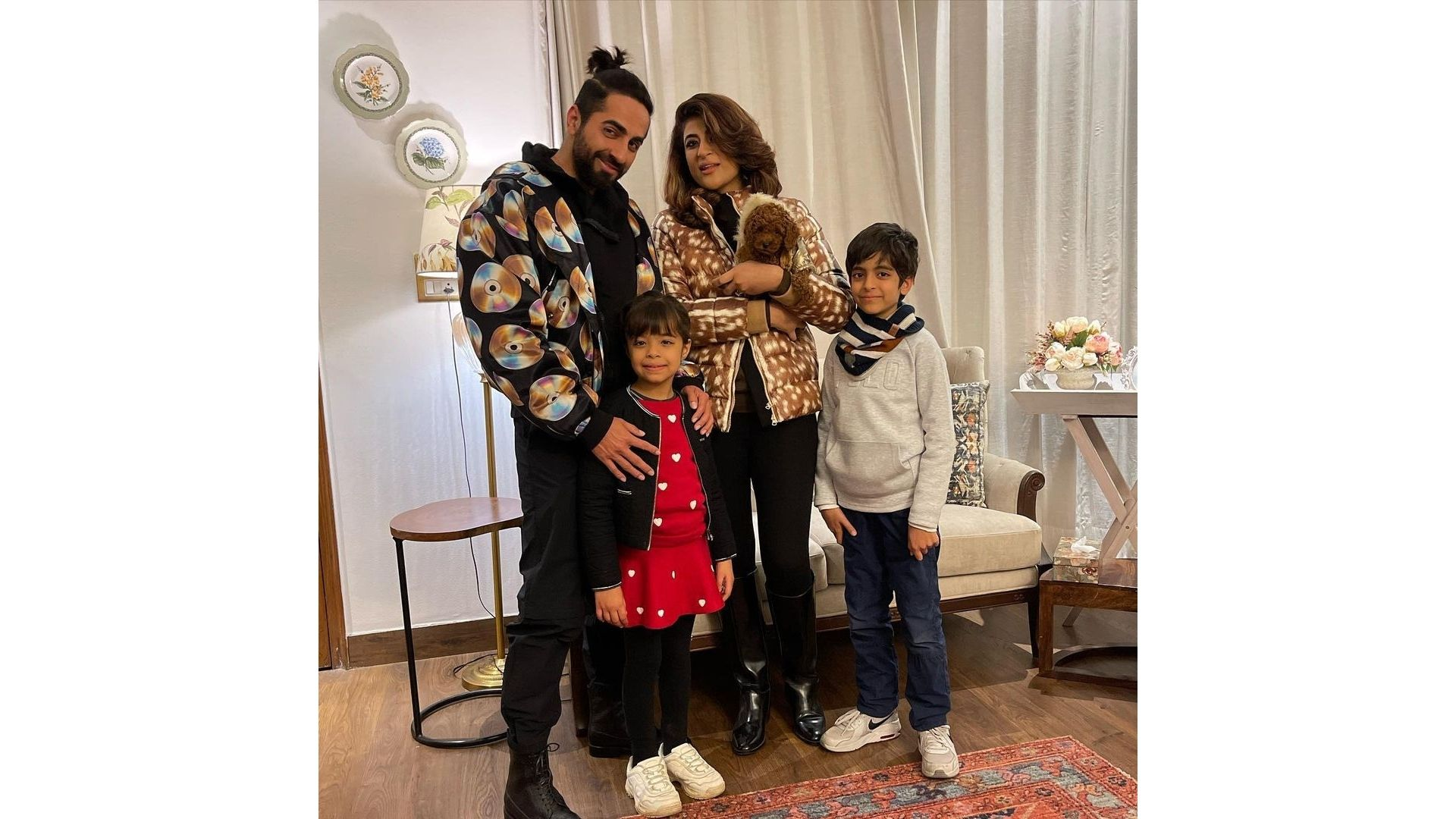 A Walk Through Ayushmann Khurrana And Tahira Kashyap's Abode Which Is Knowledge Rich And Aesthetically Pleasing
