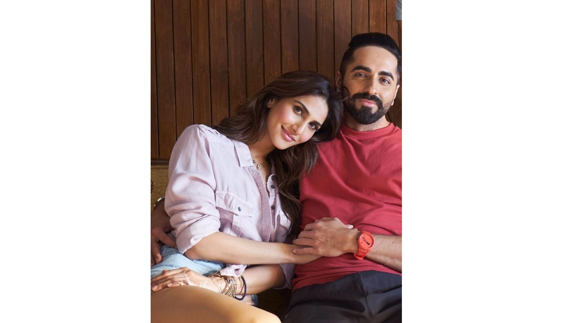 Ayushmann Khurrana-Vaani Kapoor Starrer Chandigarh Kare Aashiqui Gets A Release Date; Actor Makes The Announcement With A BTS Pic Flaunting Flexes