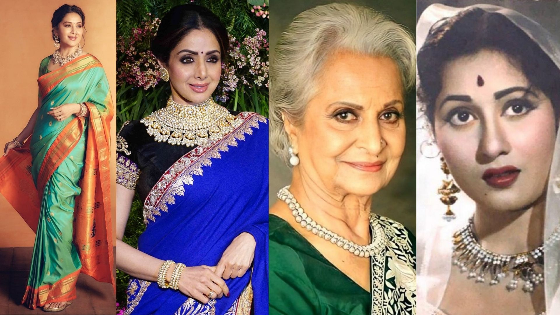 From Sridevi To Madhuri Dixit- The Eternal Beauties Of Bollywood, And We Bet You Will Agree