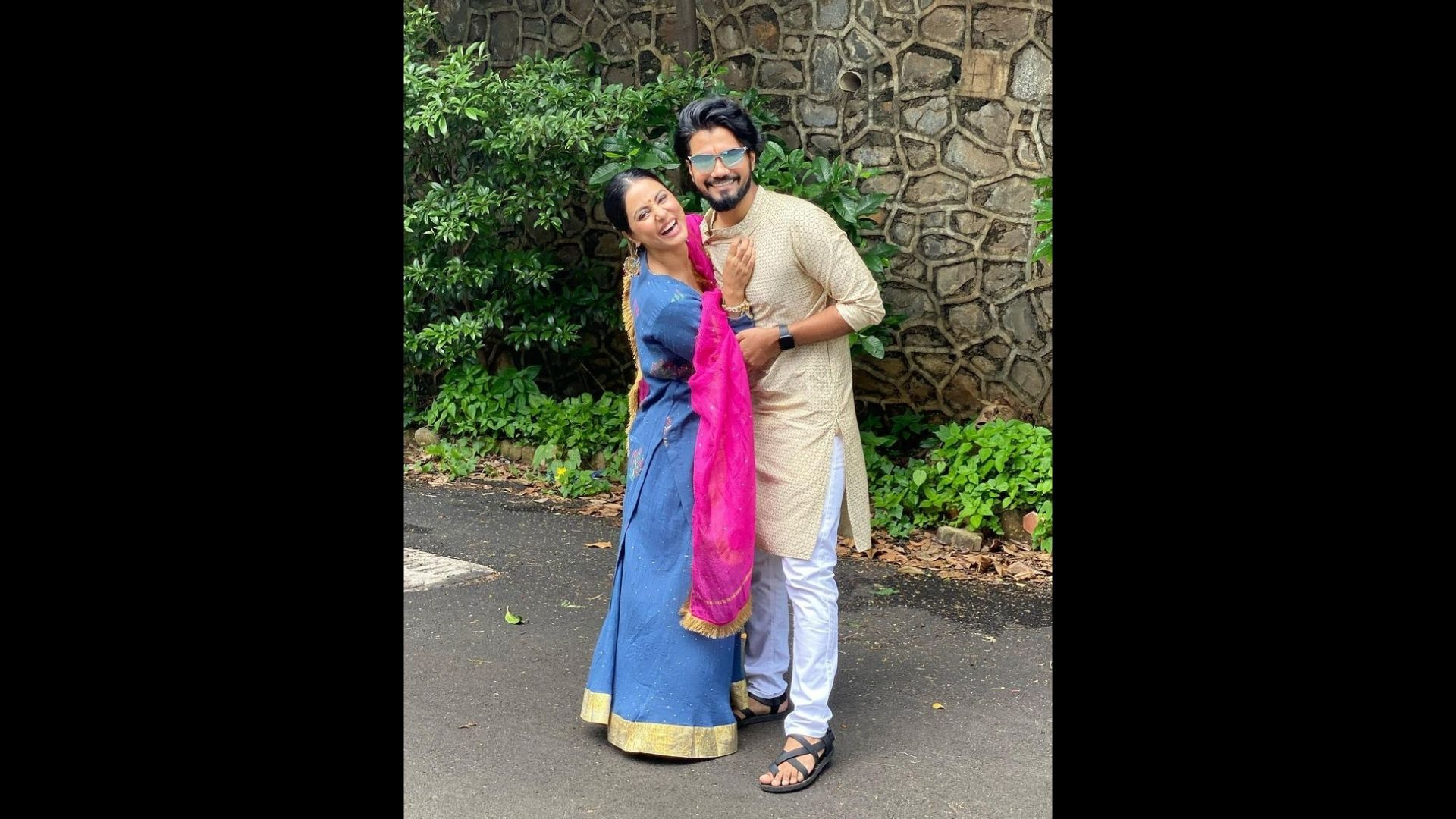 Hina Khan's Boyfriend Rocky Jaiswal Is Awestruck On Seeing Actress' Latest Avatar; Check Out His Reaction