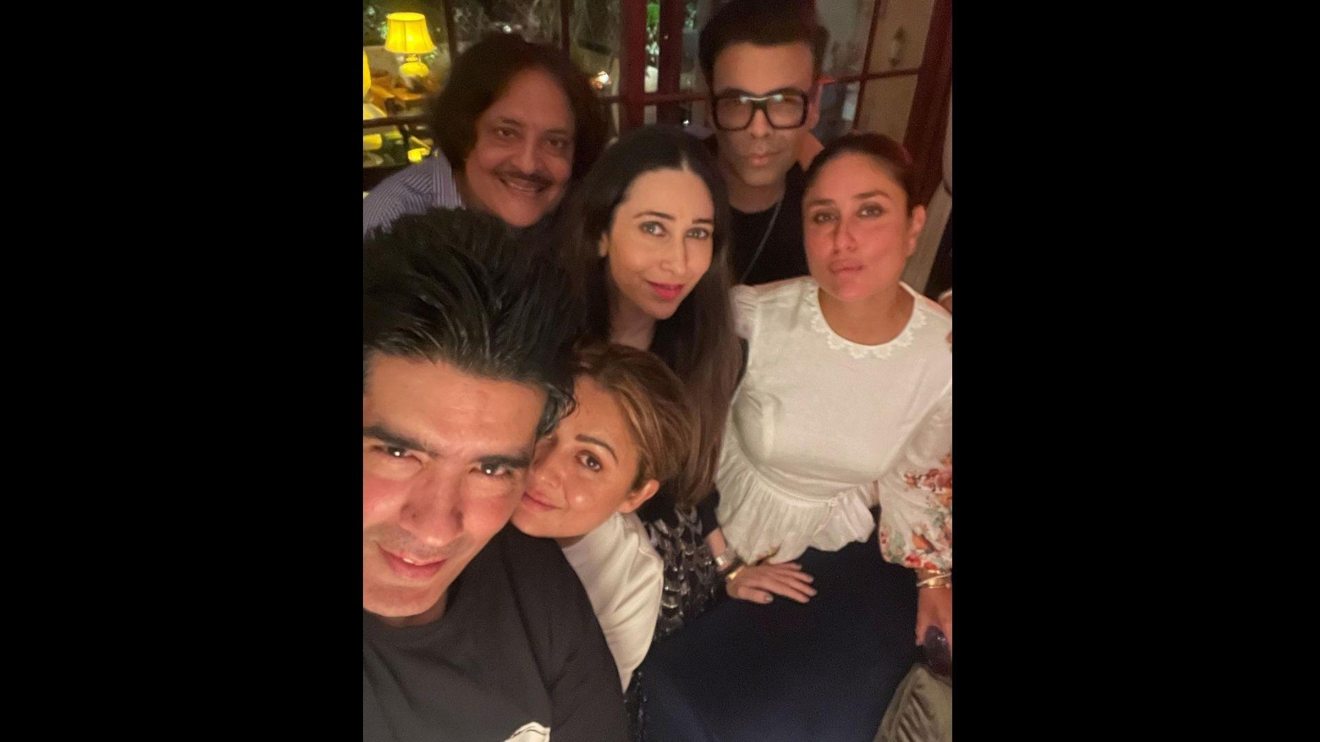 Kareena Kapoor Khan Hosts A House Party; Sister Karisma Kapoor, BFF Karan Johar And Manish Malhotra Arrived In Style