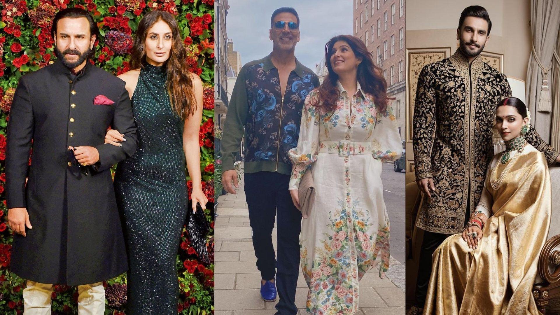 Kareena Kapoor-Saif Ali Khan, Deepika Padukone-Ranveer Singh – Meet The Most Beautiful Celebrity Couples Of Bollywood