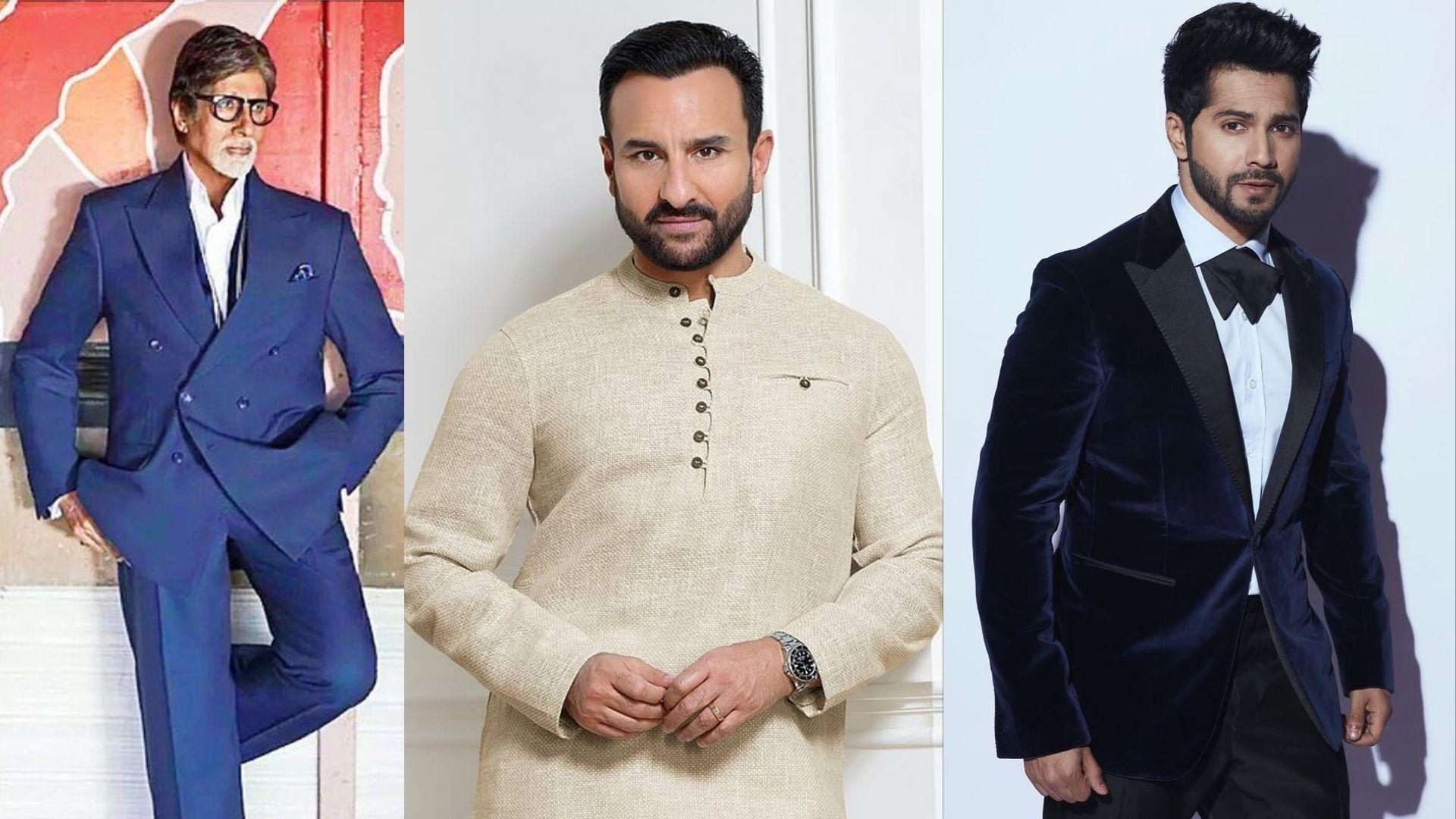 Amitabh Bachchan To Varun Dhawan- Bollywood's Most Handsome Actors