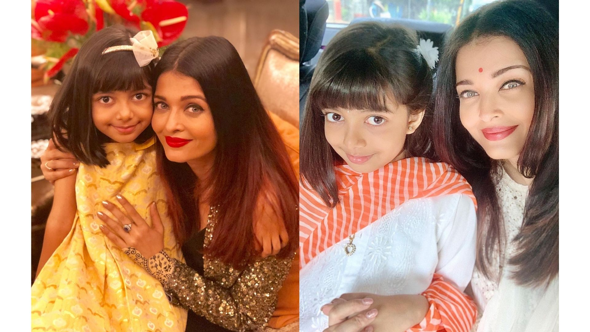 When Aaradhya Bachchan And Aishwarya Rai Proved That They Are The Ideal Doting Mother-Daughter Duo