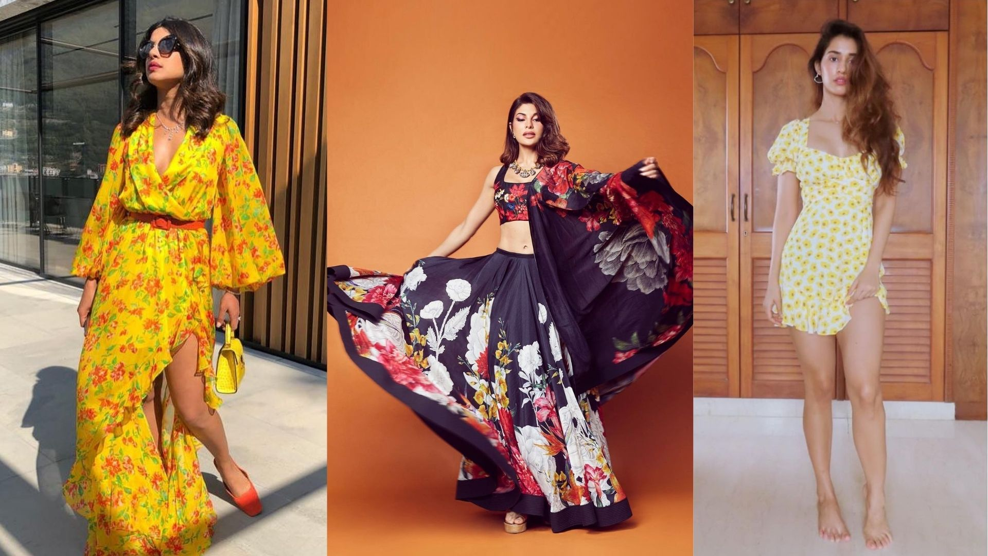Anushka Sharma To Jacqueline Fernandez- These Actresses Teach Us The Right Way To Wear Florals