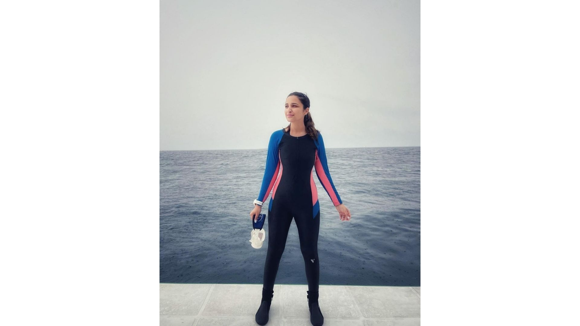 Parineeti Chopra Stuns Netizens With Her Scuba Diving Skills And Calls It A 'Meditation'; See What She Signals Underwater