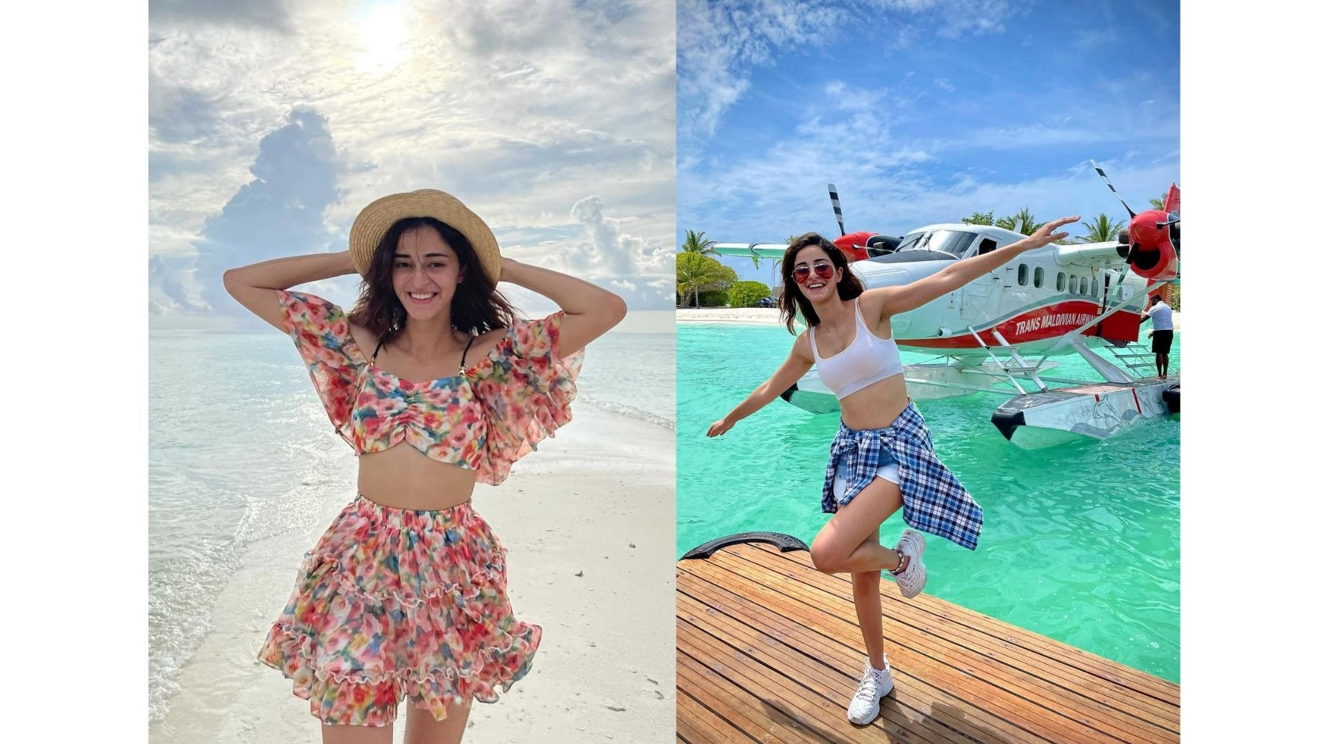 Ananya Panday Looks No Less Than A Mermaid In Her Underwater Video From Maldives; Stuns In White Bikini