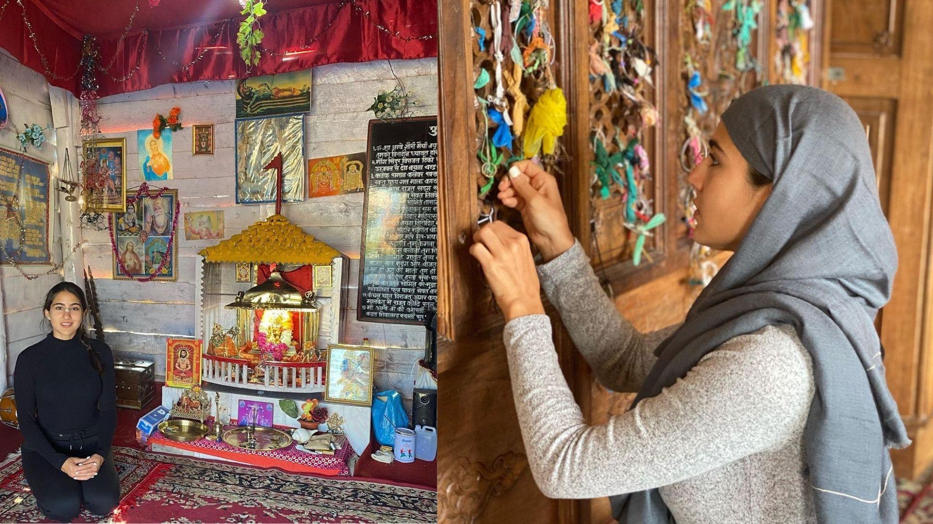 Sara Ali Khan Is Ecstatic To Meet Soldiers In Kashmir; Visits Temple, Mosque, Church And Gurudwara, Says, 'Sarv Dharm Sambhav'