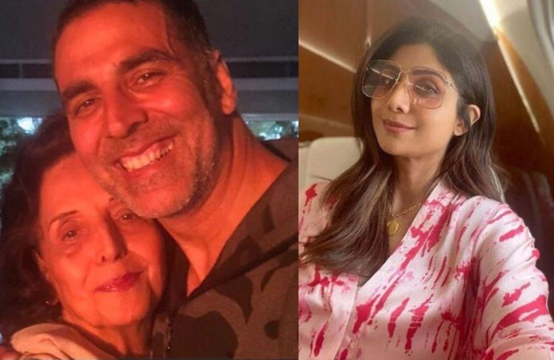 Shilpa Shetty Marks Her Presence At Akshay Kumar's House To Pay Condolence To The Family