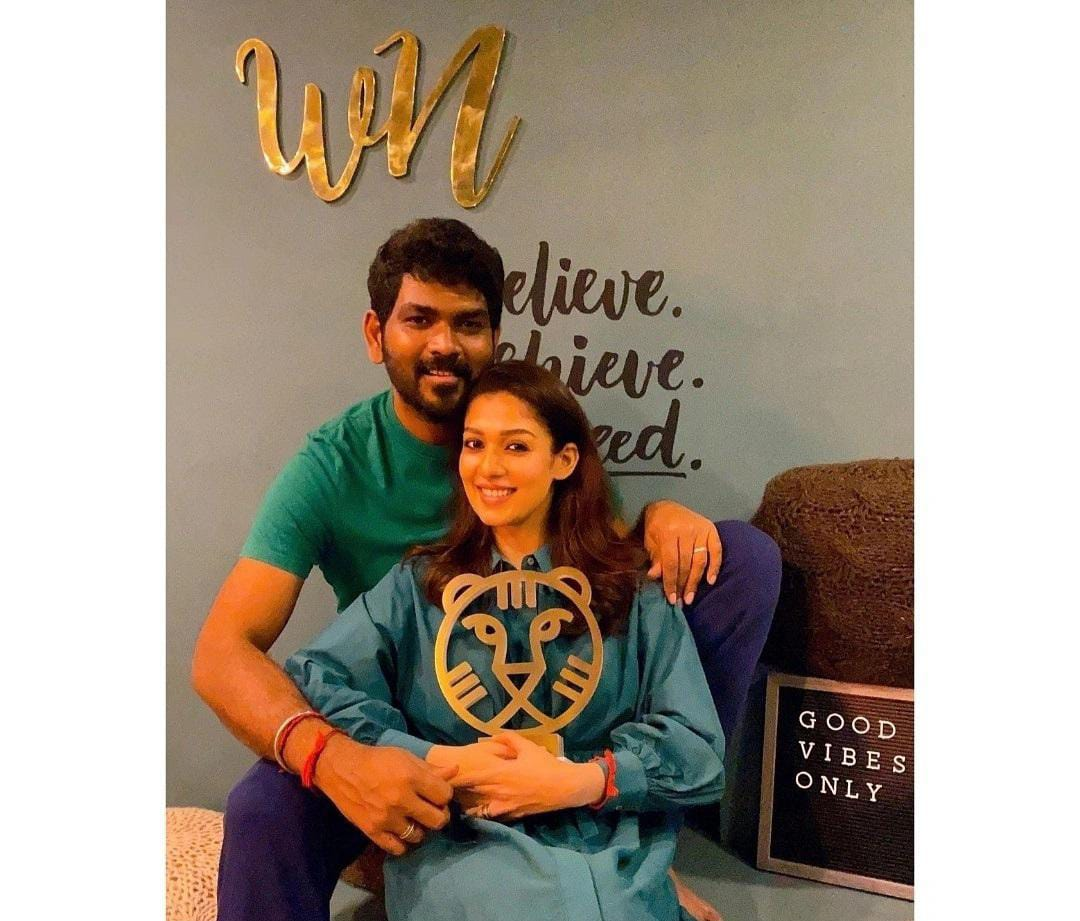 Nayanthara and fiancé Vignesh Shivan never cease to give couple dressing goals