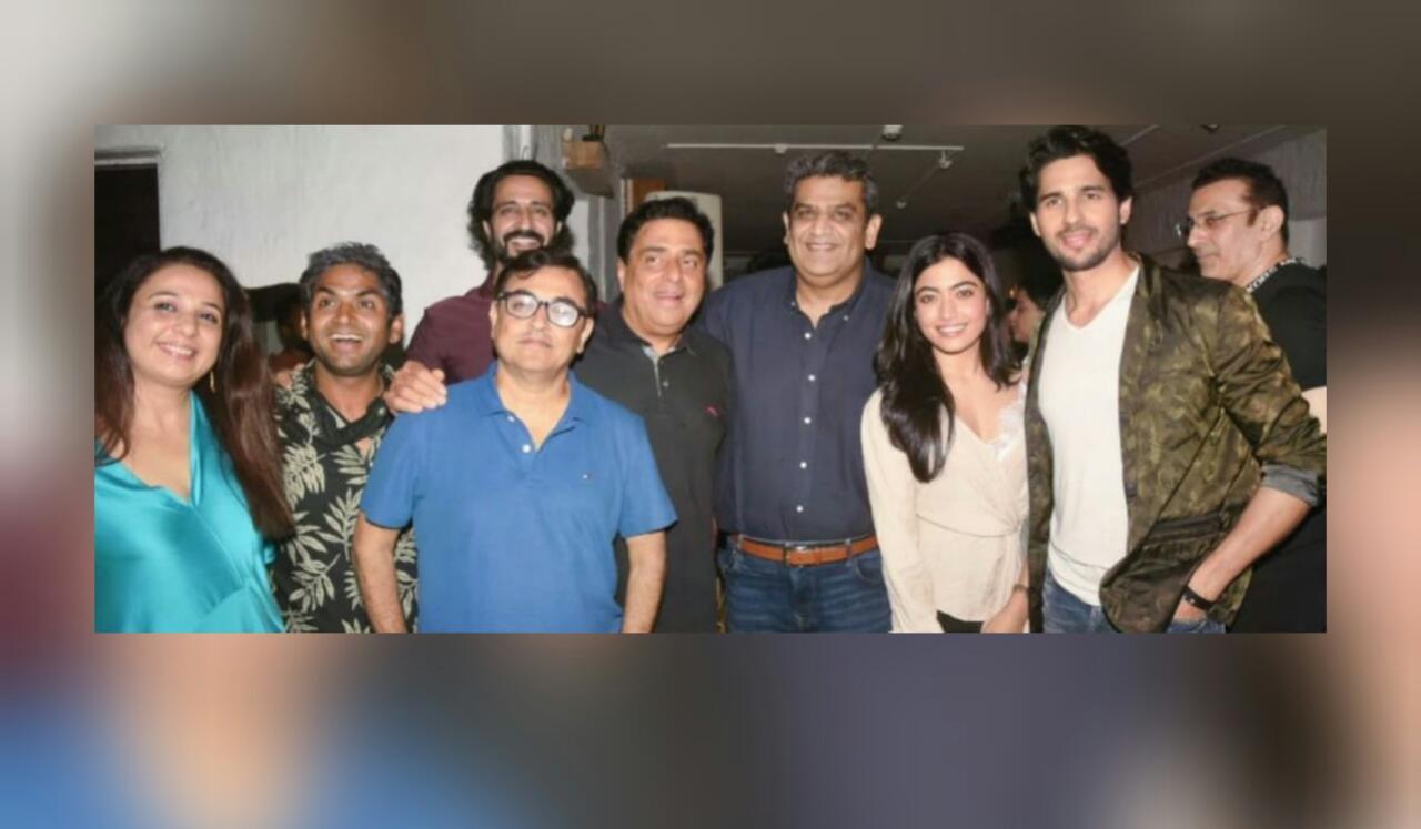 Mission Manju Starrer Sidharth Malhotra And Rashmika Mandanna Shoot Wrapped Up; Leading Actors Get Spotted