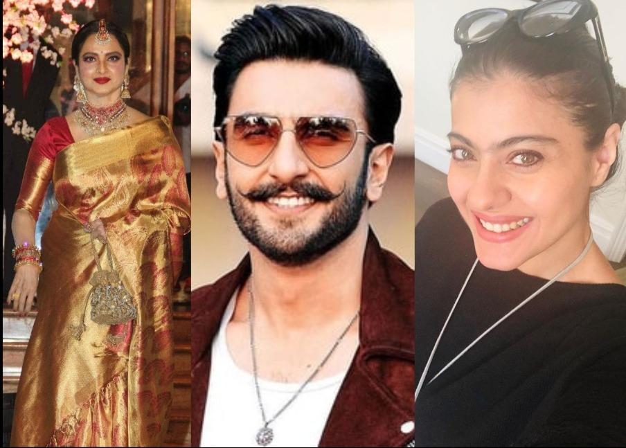 Ranveer Singh, Kajol, Rekha- List Of Bollywood Celebrities Who Dropped Their Surnames