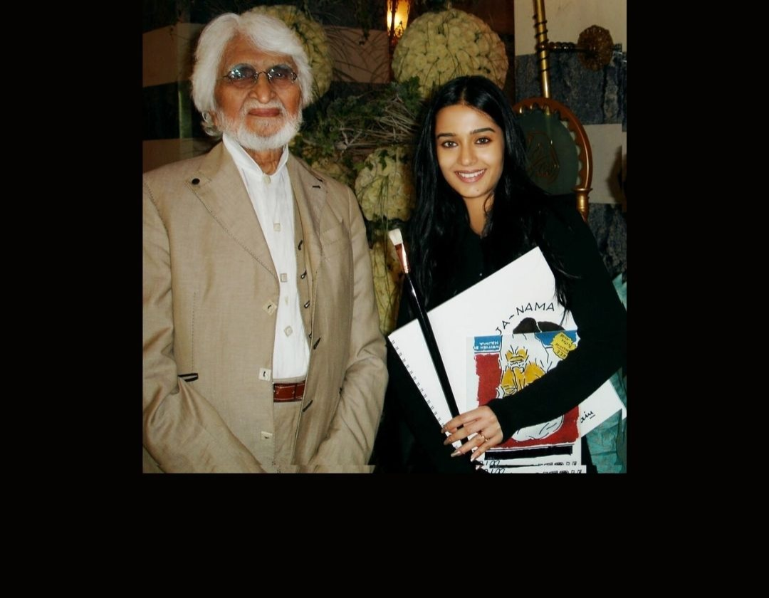Amrita Rao Remembers The Legendary MF Hussain's Special Gift To Her On His 106th Birth-Anniversary