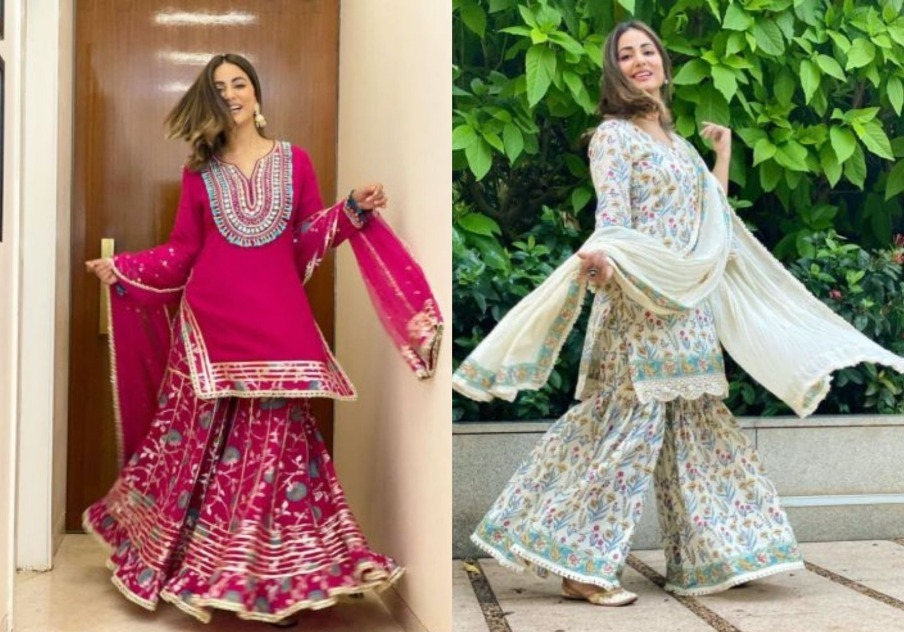 Hina Khan Looks Festive-Ready In Her Traditional Avatars; See Pics