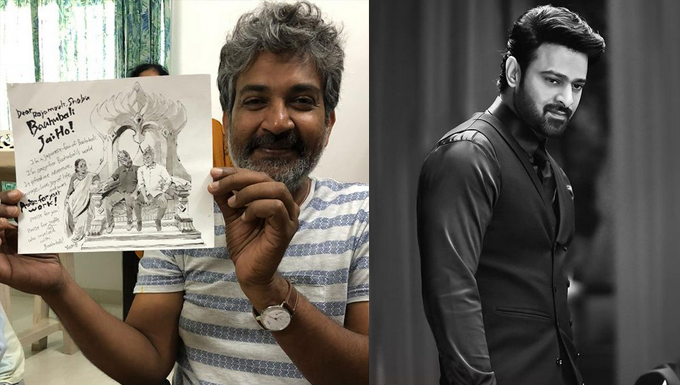 Prabhas and Rajamouli roped in for collaboration by Mythri?