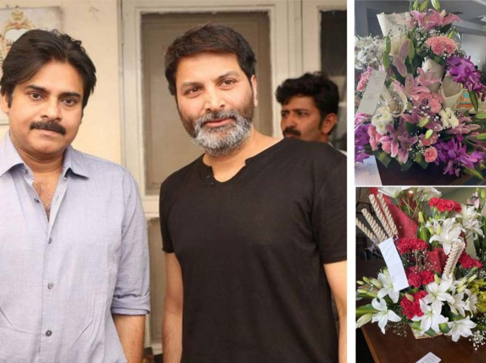 Pawan Kalyan, Trivikram send flower bouquets to Sai Dharam Tej and congratulate him