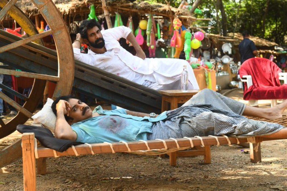Rana Daggubati was photographed 'relaxing' with Pawan Kalyan