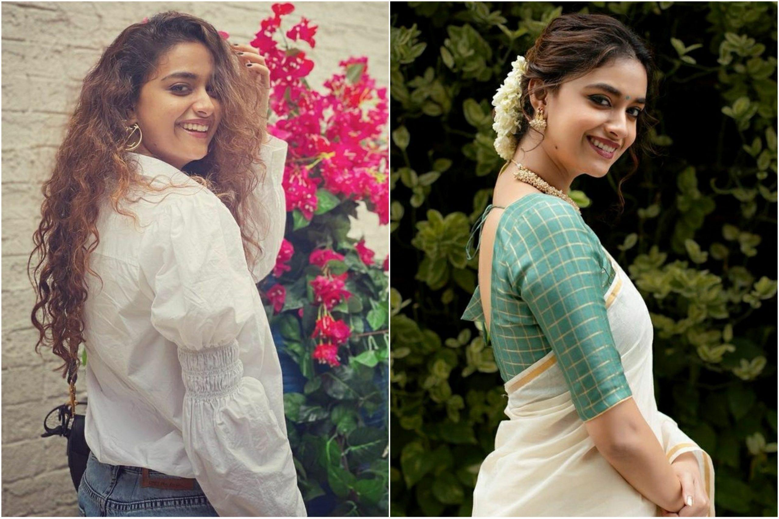 Keerthy Suresh's classic 'Palat' look has her fans going berserk