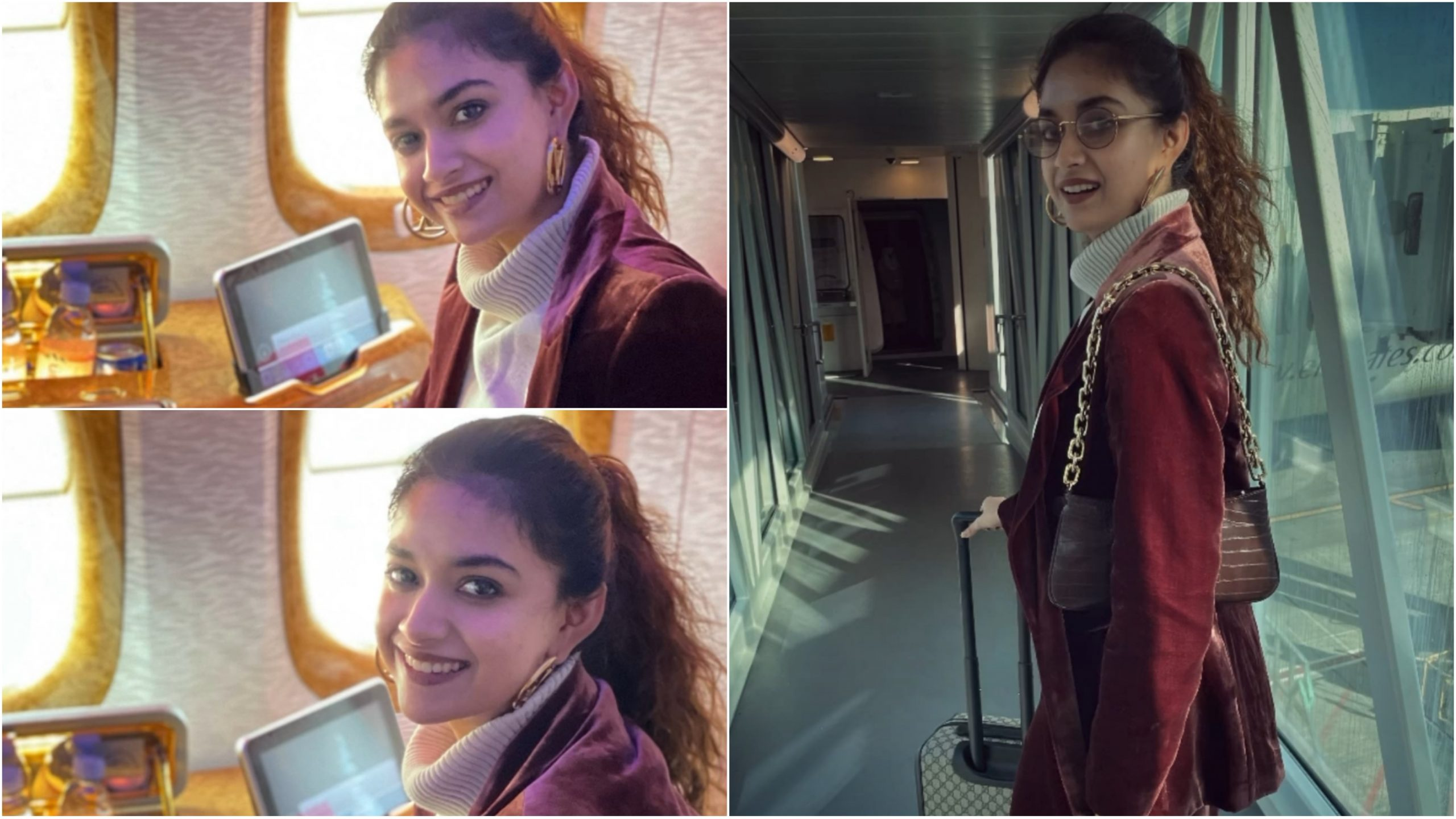 Where is Keerthy Suresh traveling in this summer?