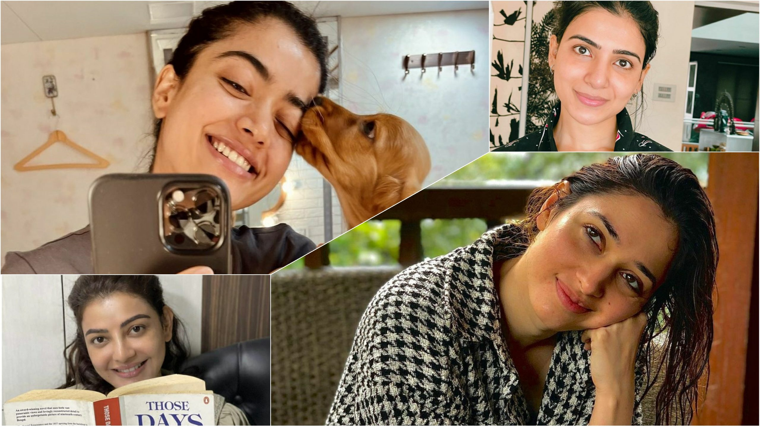 THESE Tollywood divas are oozing oomph in a no makeup look