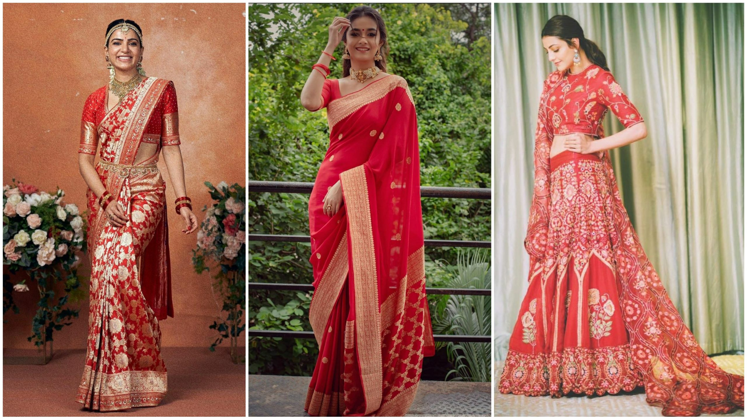 Navratri special! Tollywood power actresses who slay in the color Red