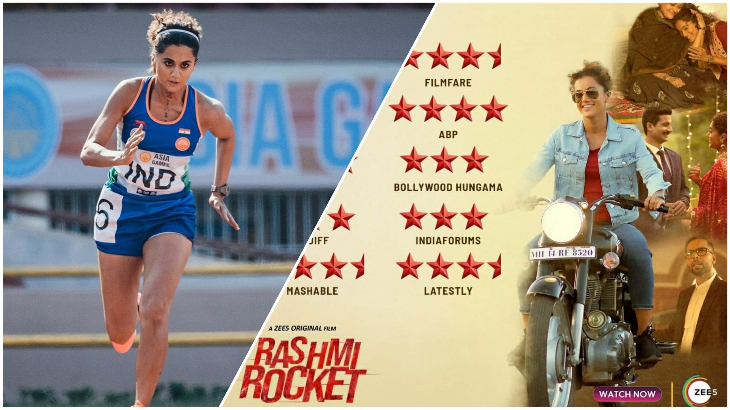 'Not the story of just one athlete', Is Rashmi Rocket on Zee5 worth a watch?